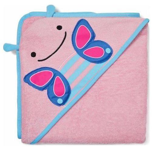 Skip hop ręcznik z kapturem zoo - motyl