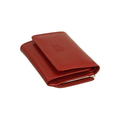 8f9010324d638 ... PERFEKT PLUS 11/1 A bigiel/zatrzask czerwony, portfel damski - Czerwony  ...