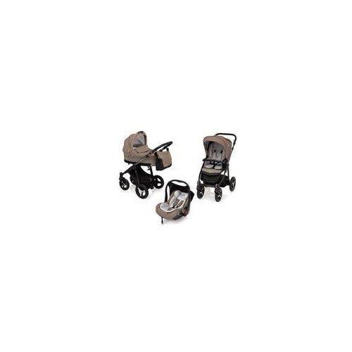 Wózek wielofunkcyjny 3w1 Husky Lupo + Leo Baby Design (beżowy + winter pack)
