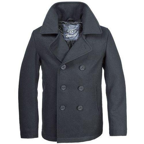 Brandit płaszcz pea coat czarny - czarny