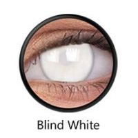 Crazy Lens - Blind White, 2 szt.