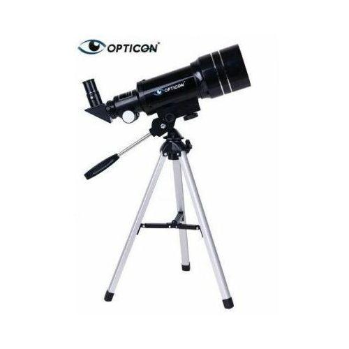 Profesjonalny teleskop astronomiczny apollo + statyw + płyta dvd + mapy/plakaty + akcesoria. marki Opticon