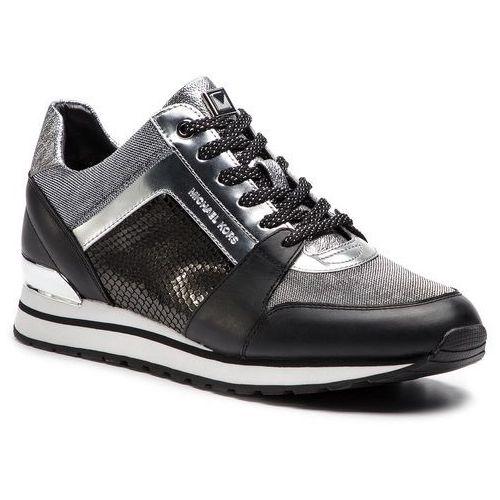 71e5ad29df04 Michael michael kors Sneakersy - billie trainer 43r9bifs1d blk silver