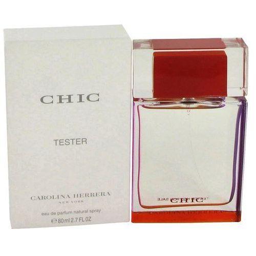 Carolina Herrera Chic for Woman, Woda perfumowana - Tester, 80ml