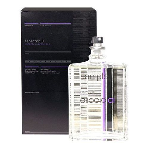 Escentric Molecules Escentric 01 100ml U Woda toaletowa Tester - Super przecena
