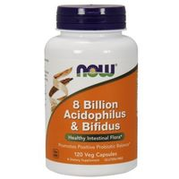 Probiotyk - 8 Billion Acidophilus & Bifidus (120 kaps.) Now Foods