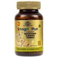 Pastylki Solgar Kanguwity witaminy dla dzieci (smak tropikalny) - 60 pastylek