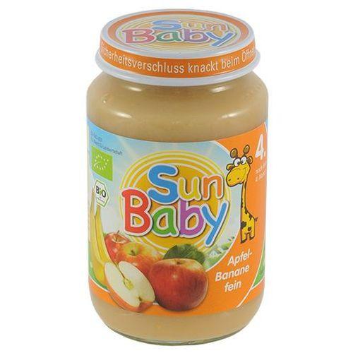 Deser jabłko i banan BIO 190g BabySun od 4 miesiąca