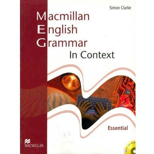 Macmillan English Grammar in Context Essential + CD (bez klucza), Simon Clarke