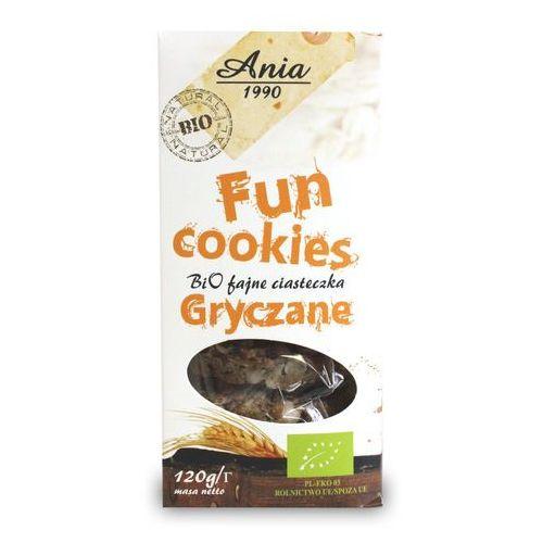 Ciasteczka Gryczane Fun Cookies bio 120g, 1718