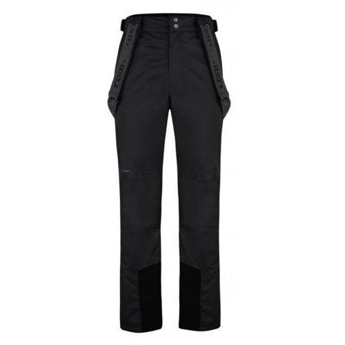Loap męskie spodnie narciarskie fossi czarne xl