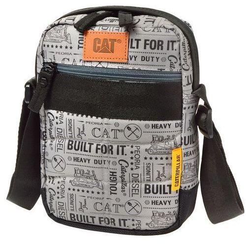 Cat rodney torba na ramię / saszetka na mini tablet / szara - black/grey marki Caterpillar