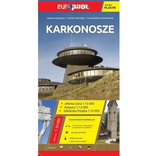 Europilot Karkonosze skala 1:50 000 mapa turystyczna laminowana, praca zbiorowa
