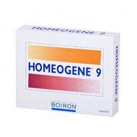 BOIRON HOMEOGENE 9 na ból gardła i chrypkę x 60 tabletek