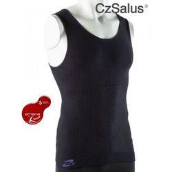 Koszulka męska z włókna emana® przeciwcellulitowa, odmładzająca skórę, wyszczuplająca, zmniejszająca zmęczenie mięśni - beautysan marki Czsalus (włochy)