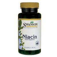 Tabletki Niacyna (Witamina B-3) 100mg 250 tabl.