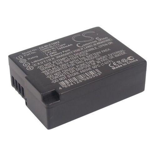 Cameron sino Panasonic dmw-blc12 1000mah 7.40wh li-ion 7.4v () (4894128080503)
