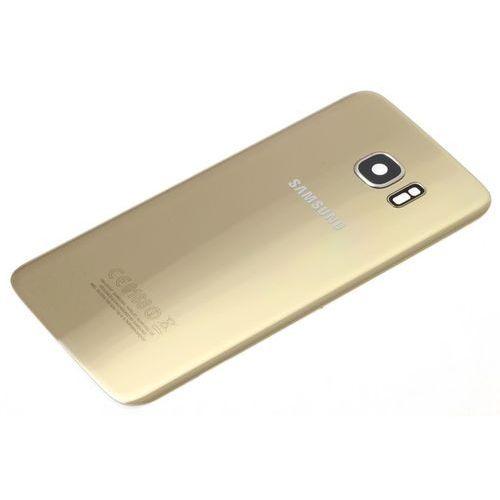 Klapka Baterii SAMSUNG Galaxy S7 Edge Oryginalna Grade B ZŁOTA - Grade B \ Złoty / Gold