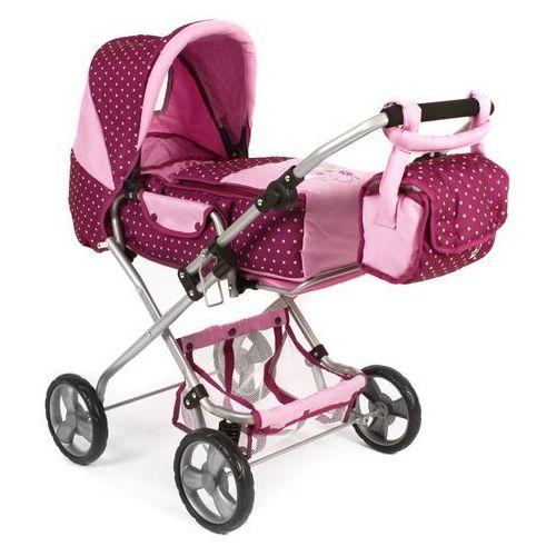 Bayer chic wózek dla lalek bambina, różowy/fioletowy
