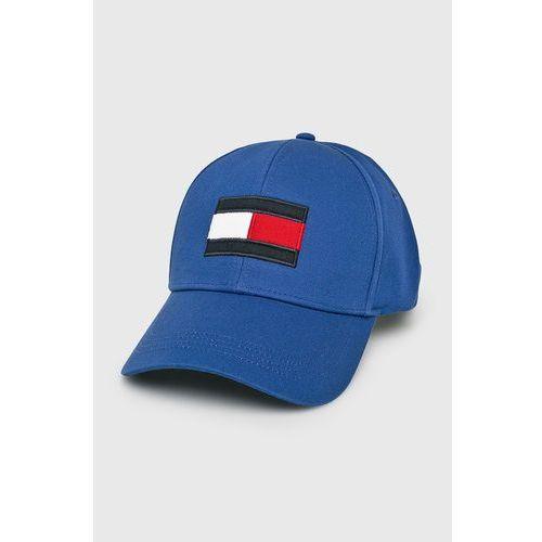 bf1bd0908571e Czapka z daszkiem - Round Patch Cap AM0AM04503 413, kolor niebieski ...