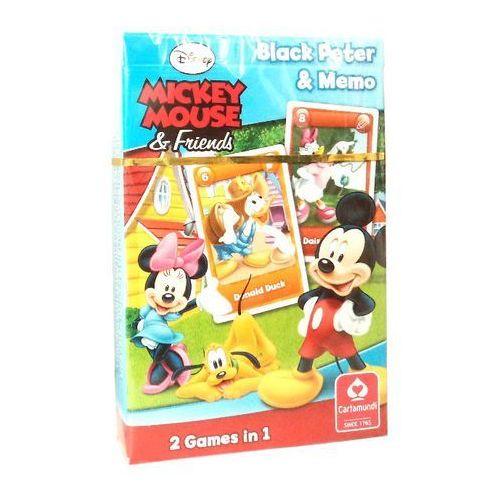 Karty do gry piotruś memo myszka mickie marki Cartamundi