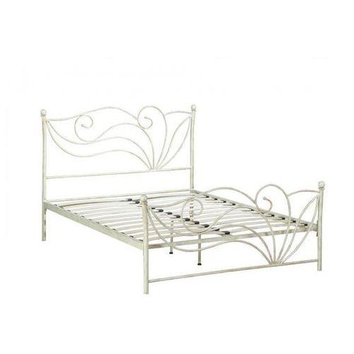 łóżko Imperatrice 140 190 Cm Metal O Wyglądzie Kutego żelaza Vente Unique