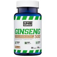Suplement prozdrowotny UNS Ginseng 500 30 tab Najlepszy produkt