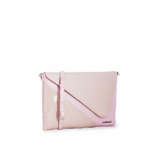 33306759273ec Różowa kopertówka częściowo lakierowana (Franco Bellucci) - sklep ...