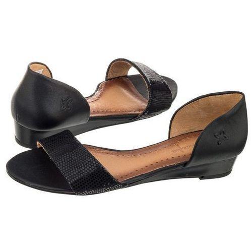 Sandały Maciejka Czarne 01971-11/00-5 (MA63-g), kolor czarny