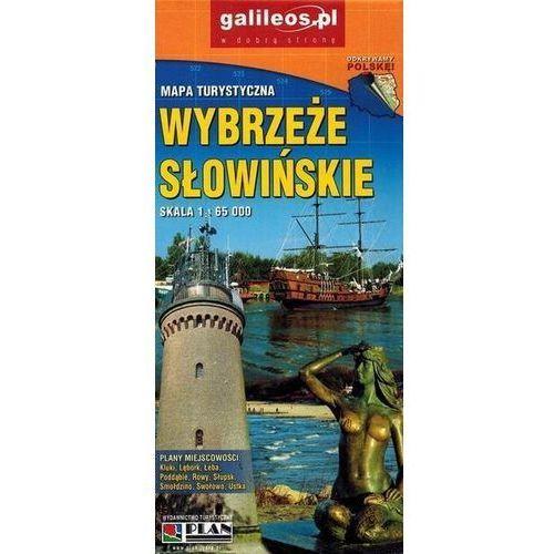 Mapa turystyczna - Wybrzeże Słowińskie 1:65 000 - Praca zbiorowa (9788378683711)
