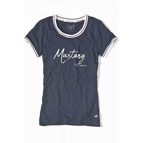 Koszulka damskie do piżamy Mustang 6167-2100 granatowa, 6167-2100 555