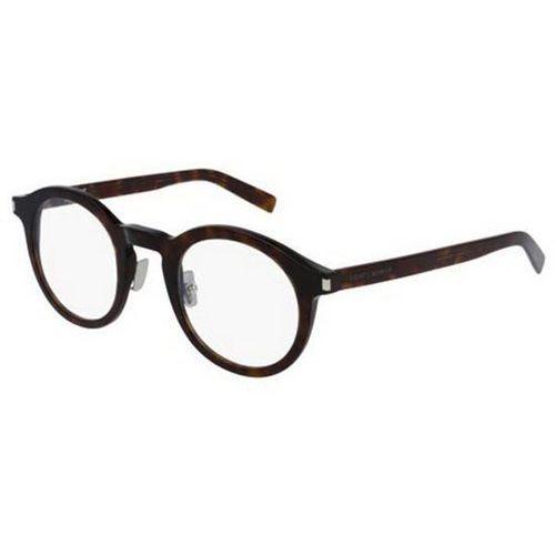 Okulary korekcyjne sl 140 slim 003 Saint laurent