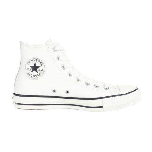 Chuck taylor all star tumbled leather hi tenisówki i trampki wysokie egret/black Converse