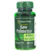 Puritan's Pride Saw Palmetto (Palma Sabałowa) 450 mg - 100 kapsułek