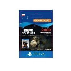 Sony Call of duty: black ops cold war - 2400 punktów [kod aktywacyjny] ps4