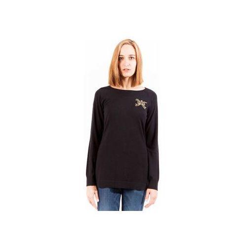 Swetry Love Moschino Sweter Kobieta, kolor czarny