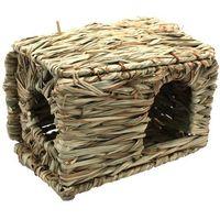 Pleciona mała kryjówka - naturalny domek dla gryzoni