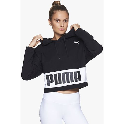 db0c3354d8844 Bluza z kapturem Puma Urban Sports 85002401, kolor czarny - 1