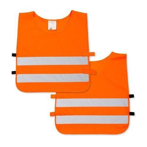 Kamizelka odblaskowa dla dzieci XS 90-110cm - xs \ pomarańczowy