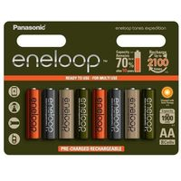 8 x akumulatorki eneloop tones expedition r6/aa 2000mah (blister) marki Panasonic