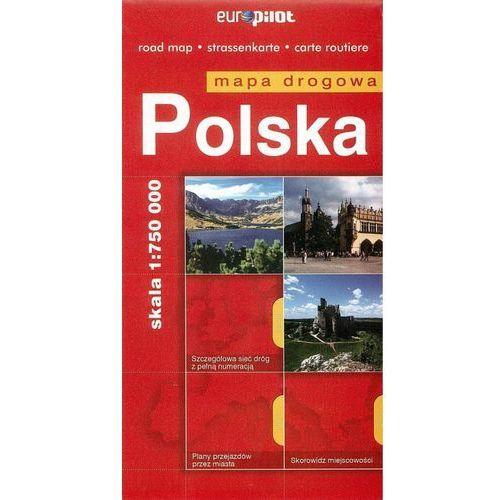 Polska mapa drogowa 1:750 000 (2014)