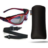 Okulary przeciwsłoneczne na rower uv etui pasek i2 marki Reis