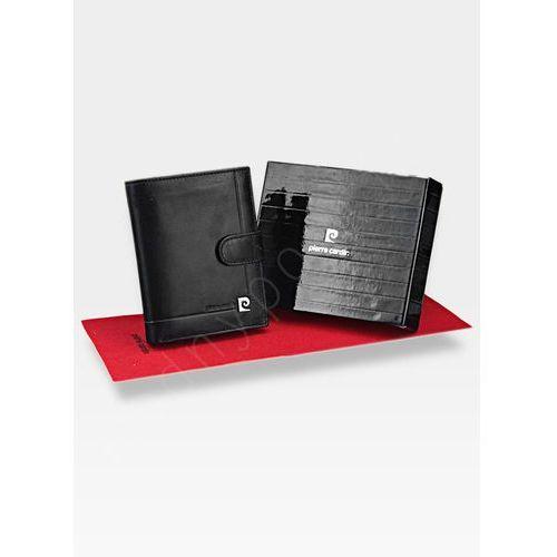 2e59b837c057e Pierre cardin Zapinany portfel męski skórzany premium ys507.1 326a - czarny