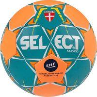 Piłka ręczna Select MUNDO Junior 2 2017 zielono-pomarańczowa