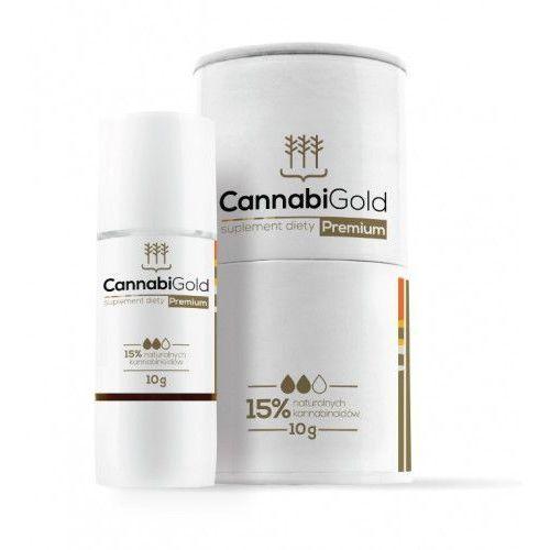 Olejek Konopny Cannabigold 15% CBD 1500mg - 10g