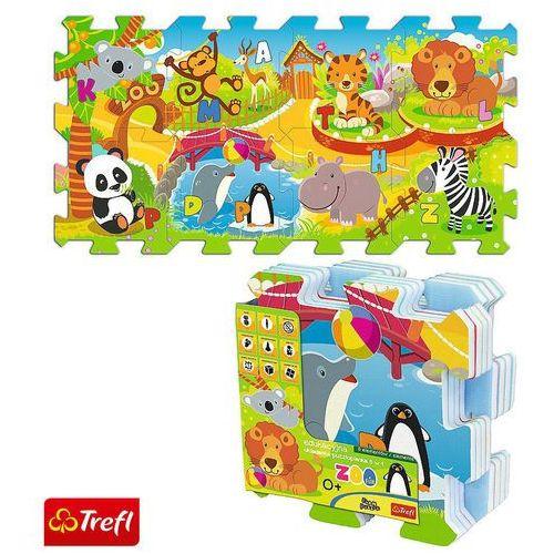 Edukacyjna Układanka-puzzlopianka 5w1 - Zoo TREFL (5900511606959)