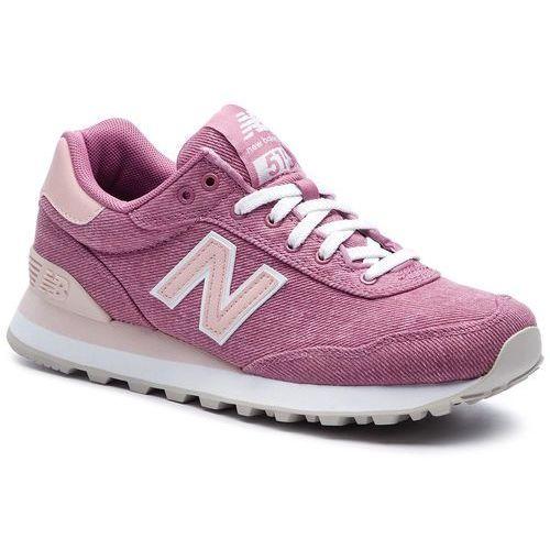 Sneakersy - wl515bom różowy marki New balance