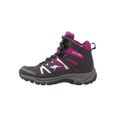 KangaROOS NANGAT Buty trekkingowe black/lilac, 36901