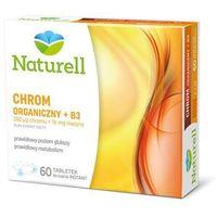 Tabletki Chrom organiczny + B3 x 60 tabletek do ssania