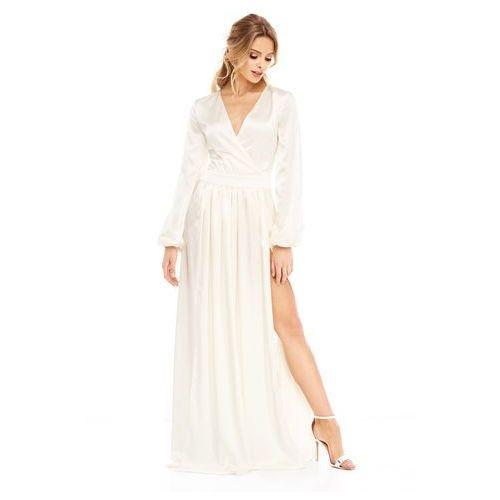 Sukienka Penelopa w kolorze kremowym